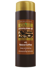 Gel de duș cu cafea intens exfoliant Camil Spa 170ml - cami231