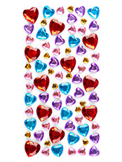 Decoratiuni strassuri Hearts - lady937