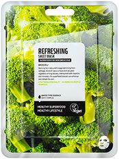 Masca de fata revigoranta cu broccoli Superfood - SF15907